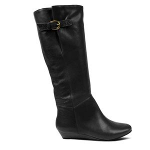 Steve Madden Intyce Leather Riding Boots